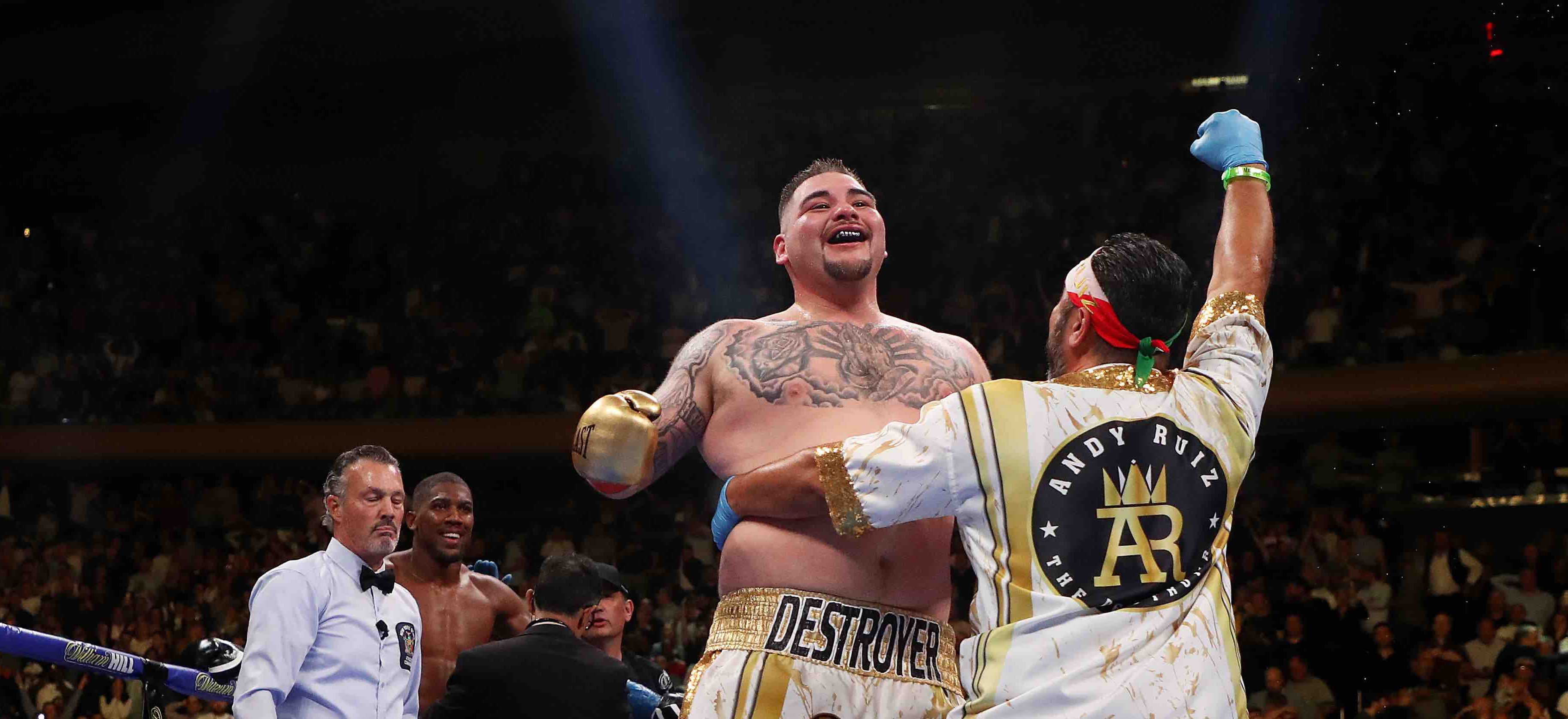 Underdog Andy Ruiz Jr. Makes History as First Mexican American Heavyweight World Champion