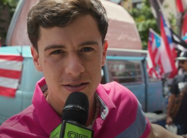 "Watch Guaynaa Ask People on the Street How They Really Feel About His Very Raunchy Hit Song ""Rebota"""