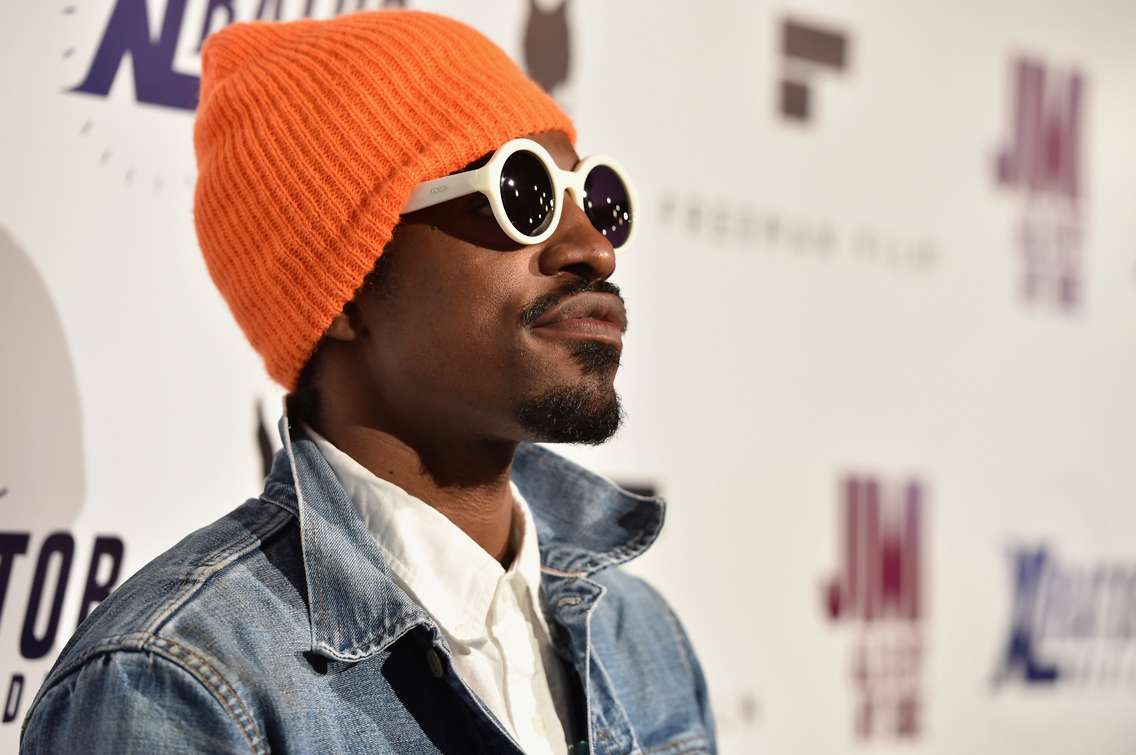 André 3000 Was Spotted Casually Playing a Mayan Double Flute in LAX Terminal