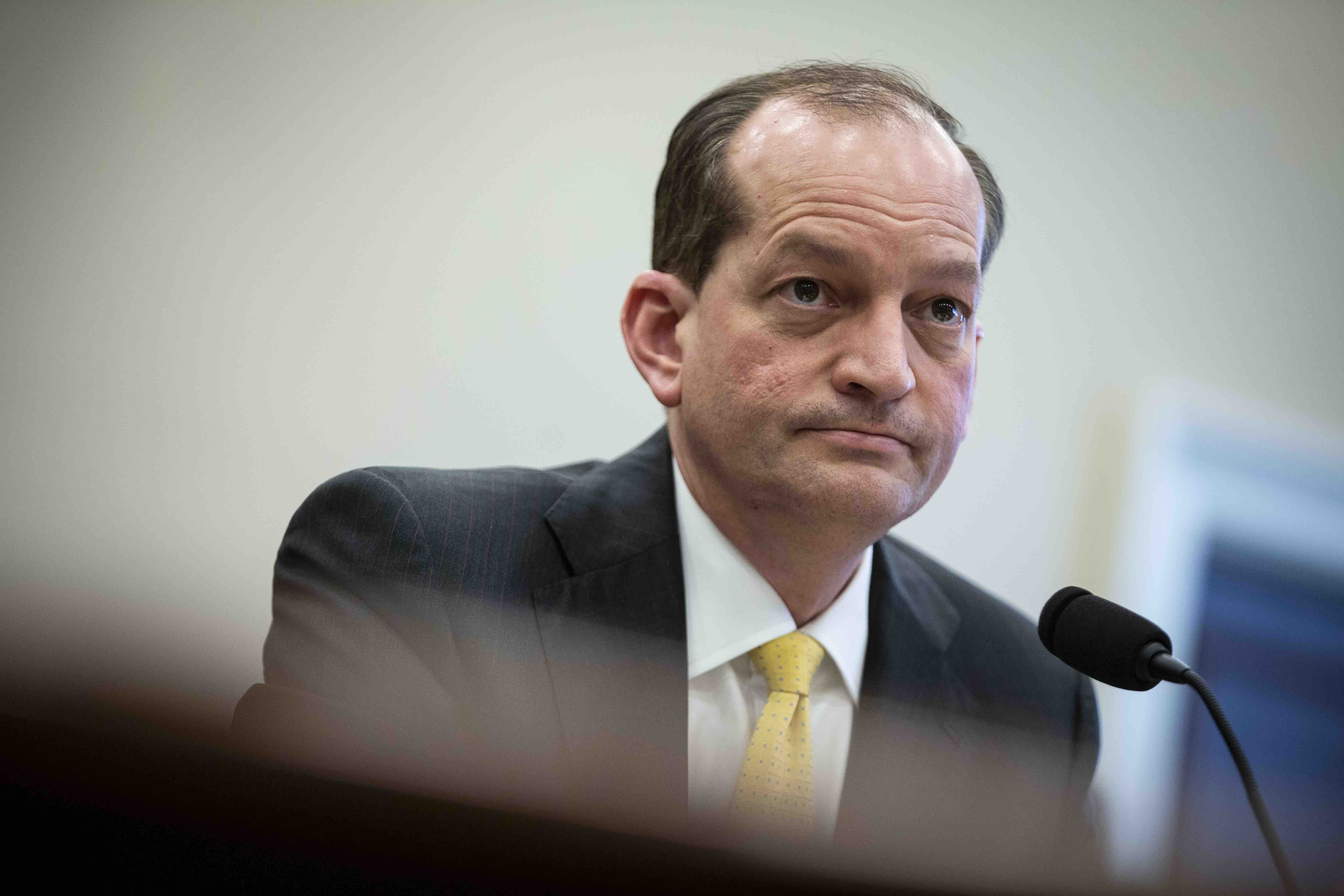 How Labor Secretary Alex Acosta Is Complicit in Jeffrey Epstein's Abuse of Young Girls