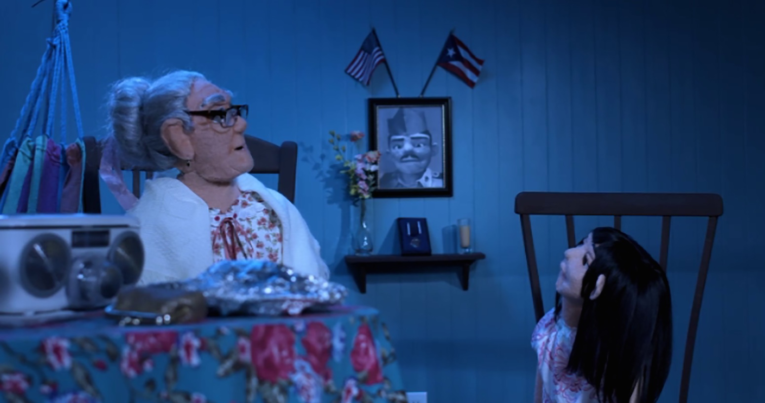 In Alba Garcia's 'Yo Soy Taíno,' Puppets Tell the Story of an Abuela & Granddaughter Surviving Hurricane Maria