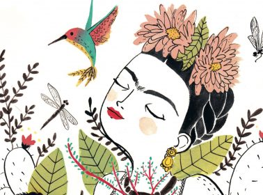 These Minimalist Illustrations Trace the Ups and Downs of Frida Kahlo's Full Life