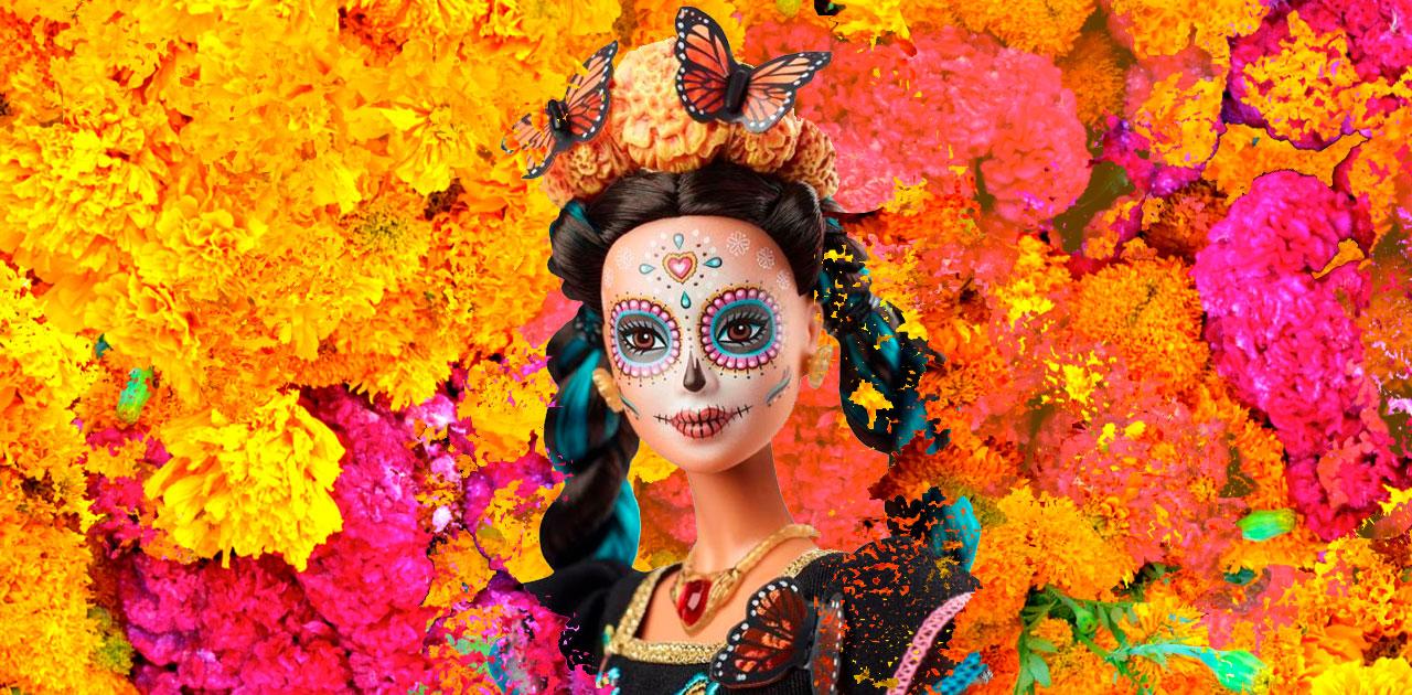 Mattel Now Has a Día de Muertos Barbie & People Have Lots of Thoughts