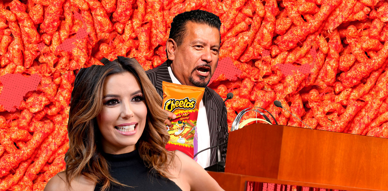 Eva Longoria to Direct Biopic on Mexican Inventor of Flamin' Hot Cheetos