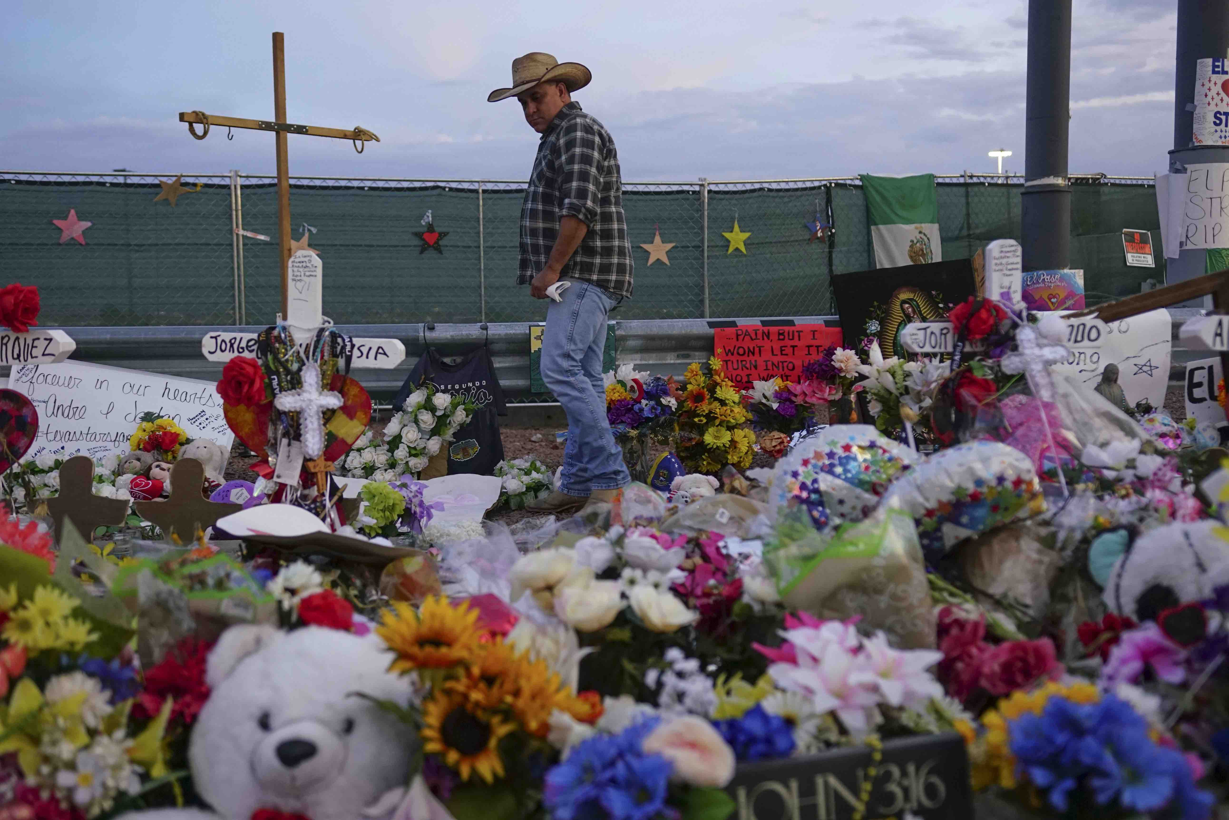 Edward James Olmos & George Lopez Spent Hours Visiting the El Paso Mass Shooting Victims