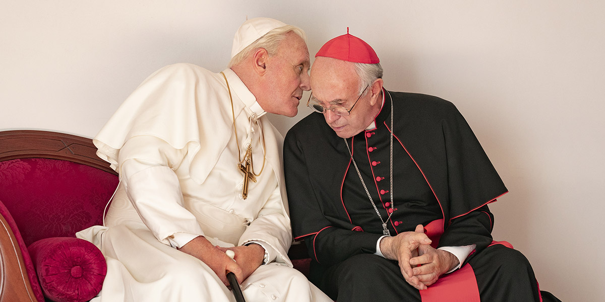 REVIEW: 'The Two Popes' Is a Surprisingly Funny Movie About Papa Francisco's Clash With His Predecessor