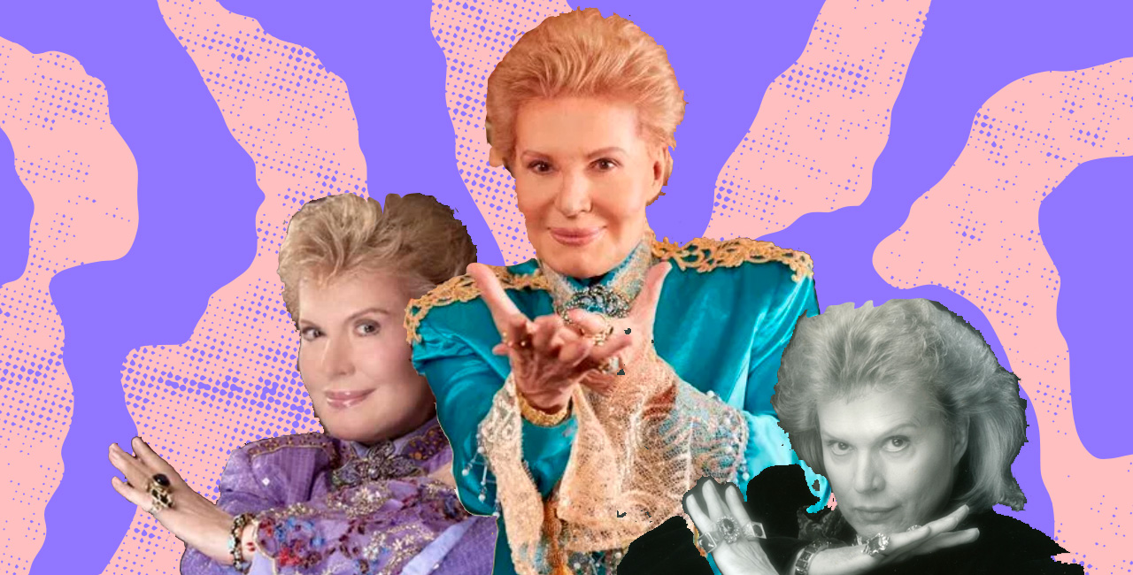 """I Am Who I Am"": Walter Mercado on Gender Non-Conformity & His Long Career"