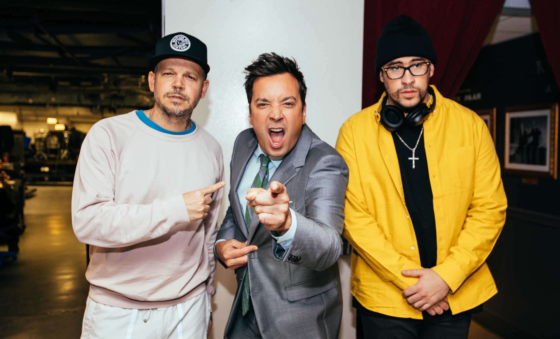 We Have Thoughts About Residente and Bad Bunny's Performance on The Tonight Show