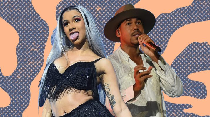 Cardi B Lost It When Romeo Santos Popped up on Her Instagram Live