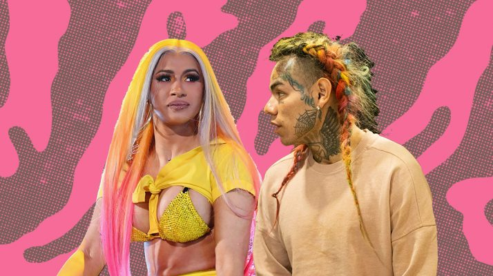Tekashi 6ix9ine Implicates Card B as Nine Trey Gangsta Blood Member While Singing in Court