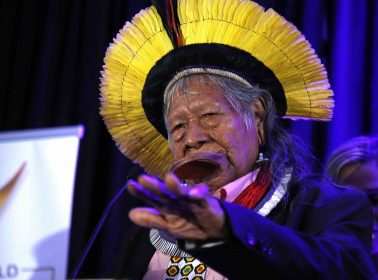Indigenous Chief Raoni Metuktire Calls on Bolsonaro to Step Down