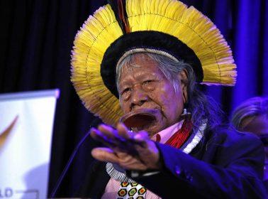 Indigenous Chief Raoni Metuktire Calls on Bolsonaro to Step Down