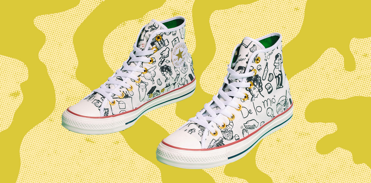 """Converse's New Puro Platáno Shoes Are """"a Cultural Coloring Book For Your Feet"""""""