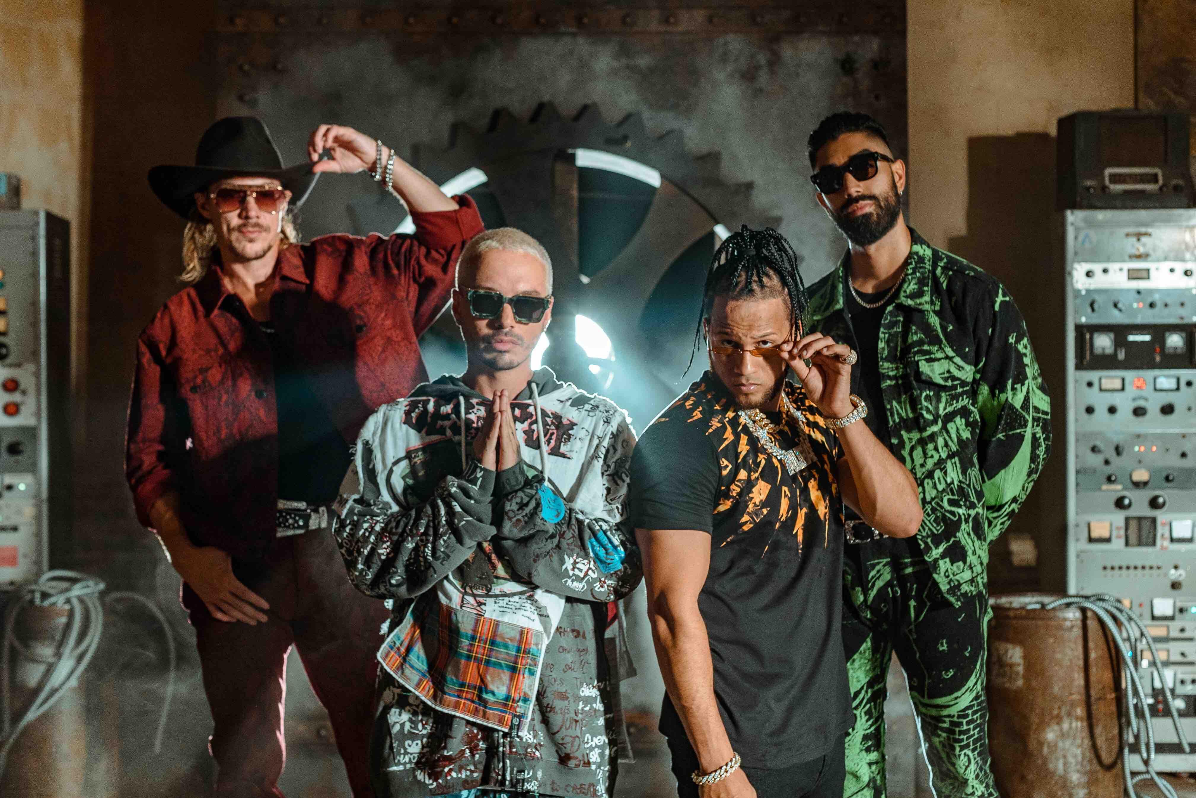 "J Balvin, Major Lazer & El Alfa's Late Summer Drop ""Que Calor"" Will Get You Dripping on the Dance Floor"