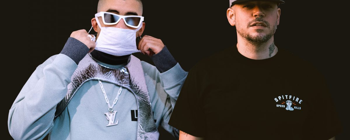 """Bad Bunny & Residente Bring Their Hit """"Bellacoso"""" to Jimmy Fallon"""