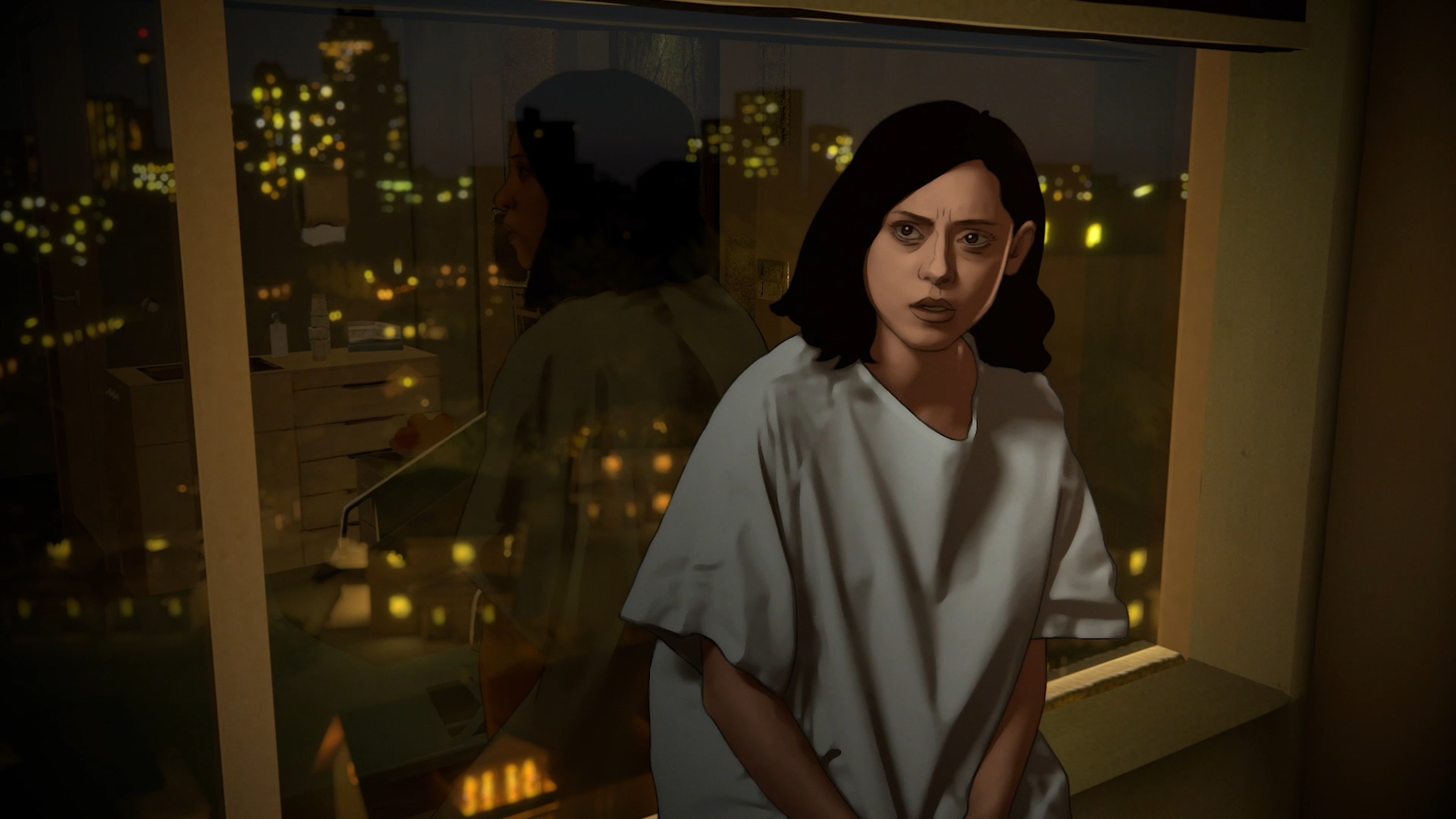 TRAILER: A Dimension-Jumping Latina Tries to Solve a Murder in Amazon Prime's Trippy Animated Series 'Undone'