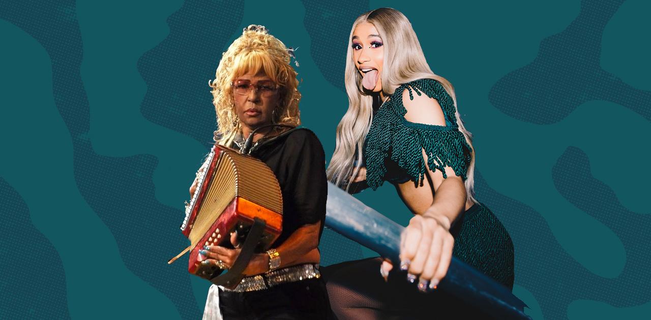 Cardi B Partied With Fefita la Grande at Her Abuela's 80th Birthday & OMG