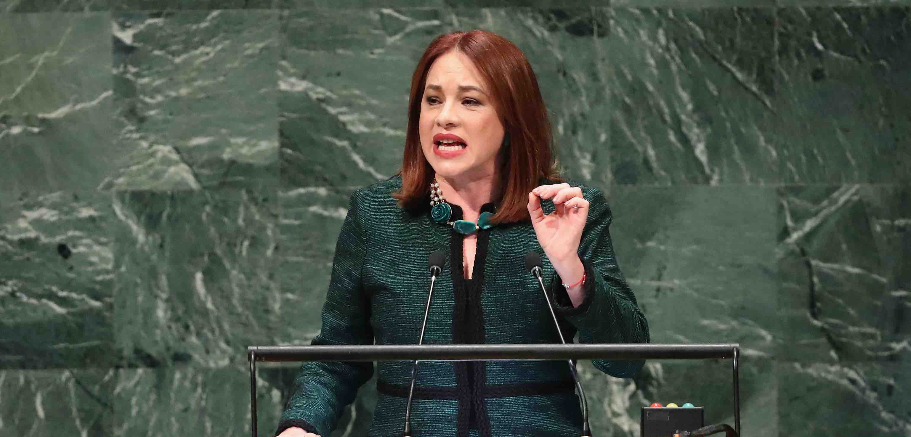 María Fernanda Espinosa Made History As UN General Assembly's First Latin American Woman President
