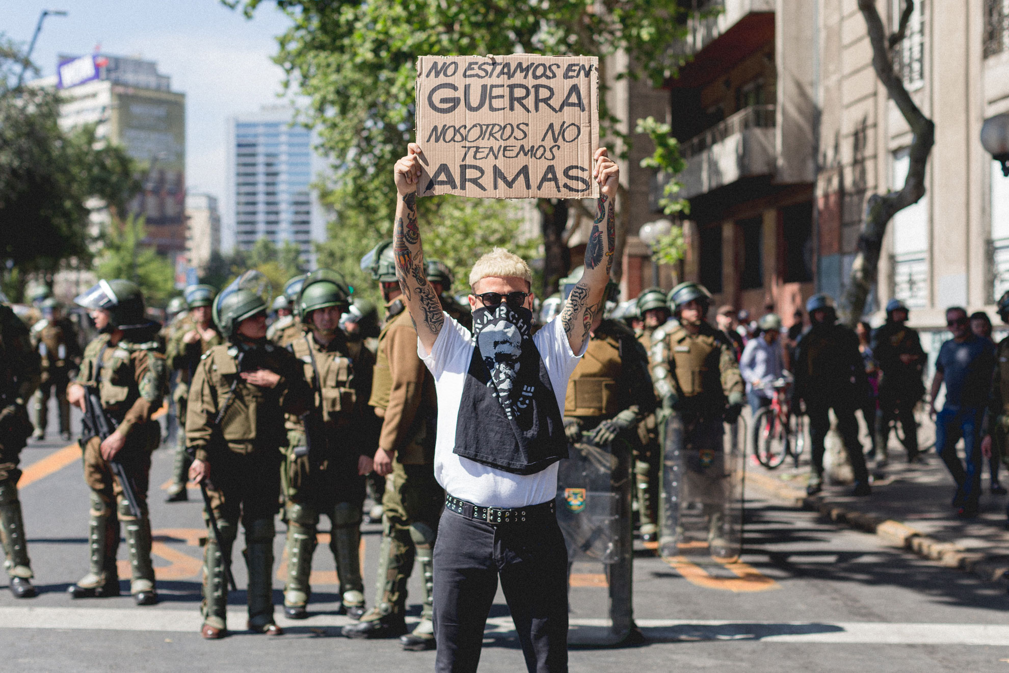 Following Tradition, Chilean Musicians Lead in Anti-Inequality Protests