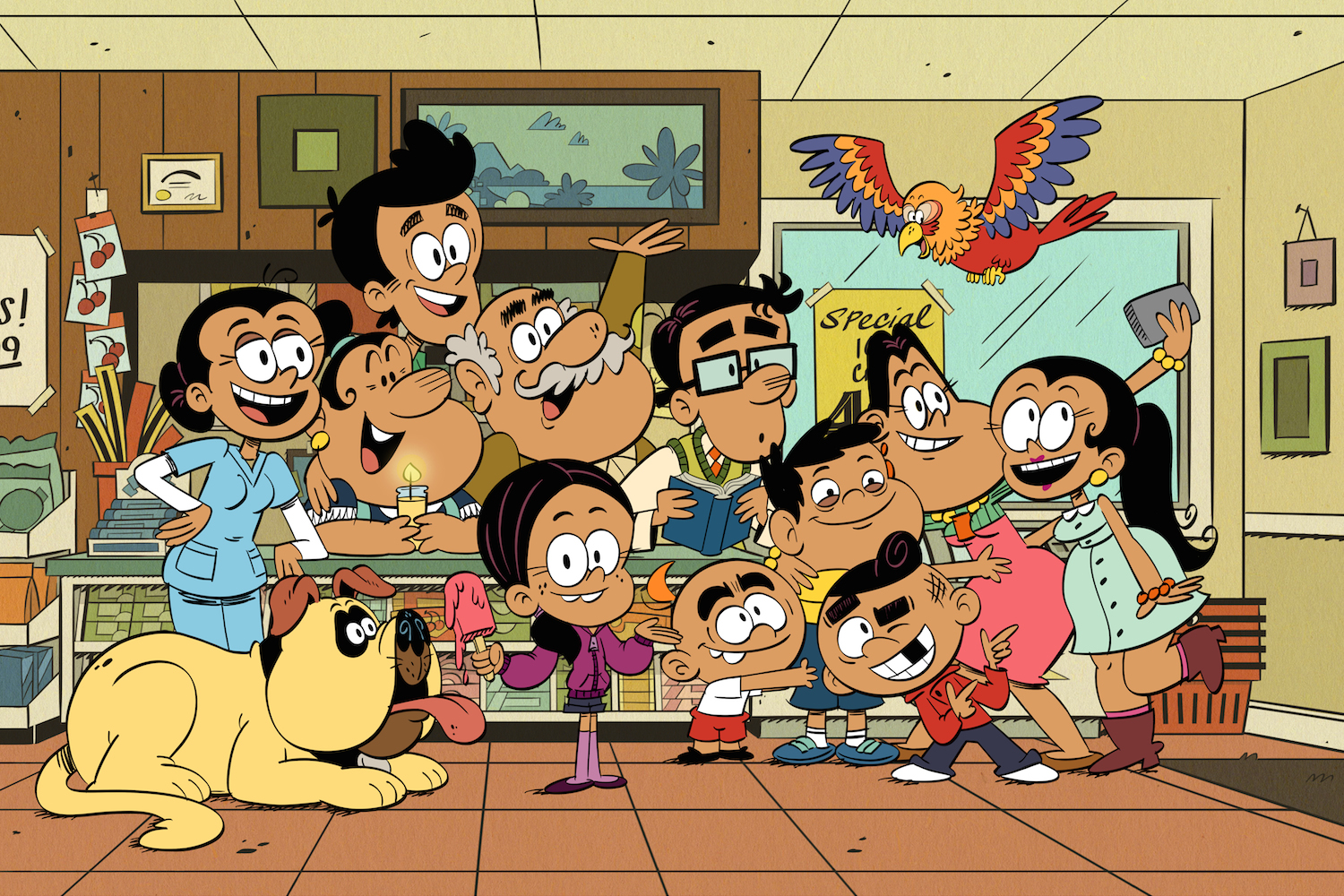 'The Casagrandes' Stars & Writers On the Power of Producing a Kids' Show With a Latino Cast