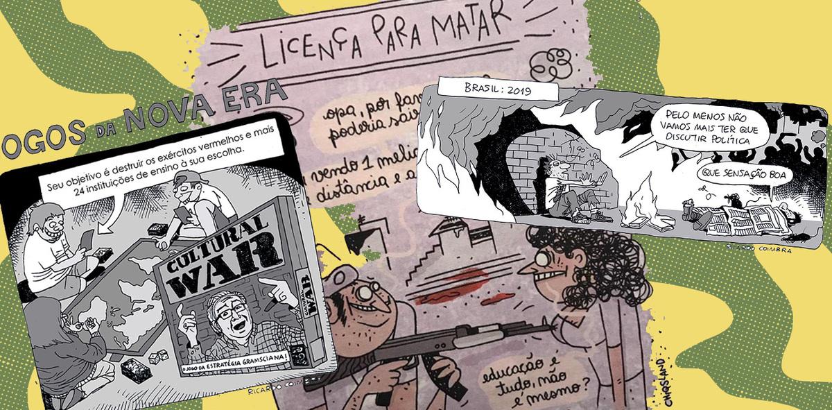 In Brazil, Artists Counter Bolsonaro's Cultural Censorship Through Political Cartoons