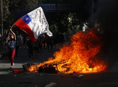 """""""Blood Is Flowing and It Is Tainting the Streets:"""" Chilean Protesters Speak Out"""