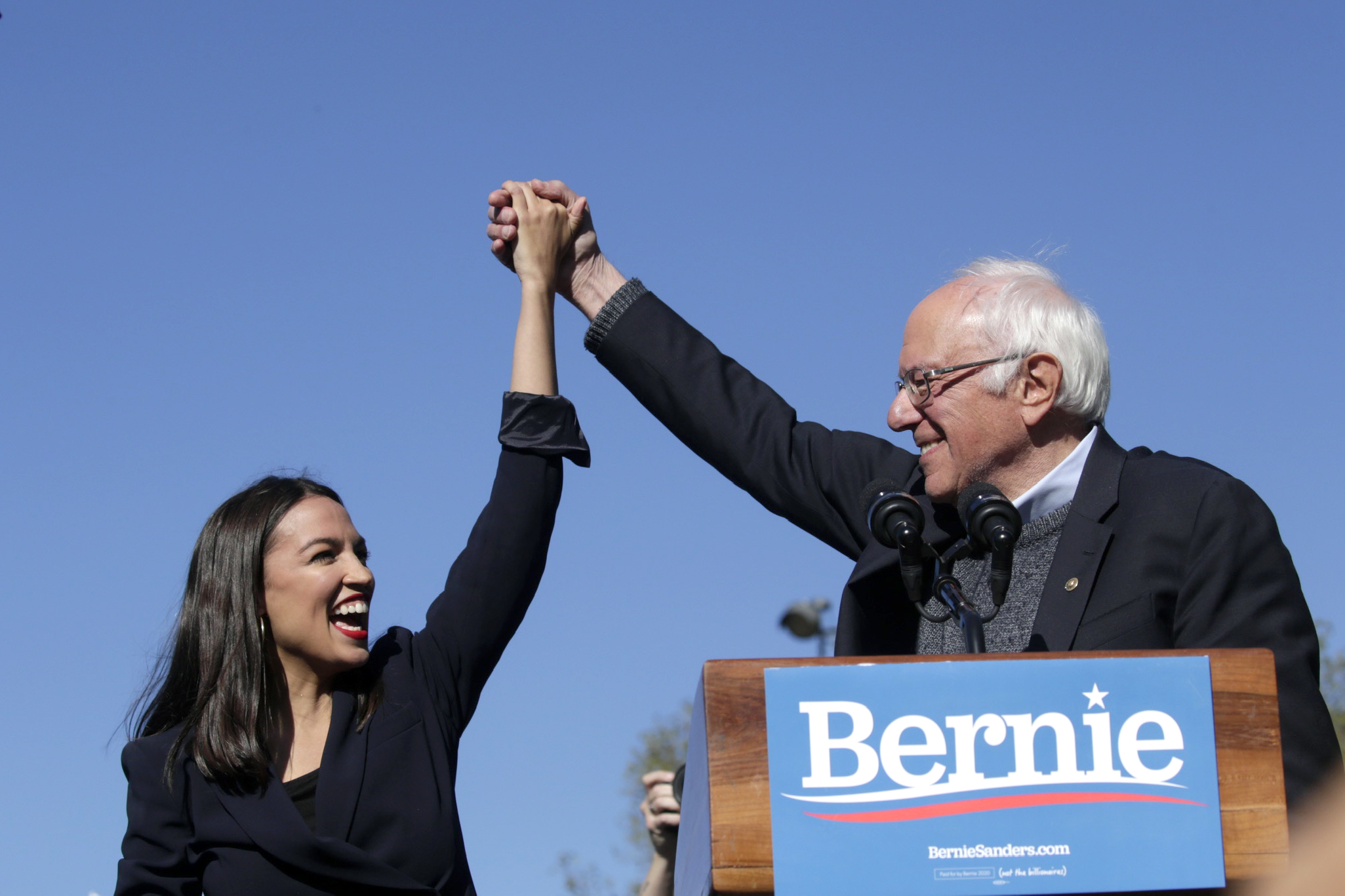 Bernie Sanders Hopes AOC Will Work in His Administration if He's Elected President