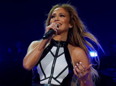 Jennifer Lopez Paid Tribute to La Reina Selena at iHeartRadio Fiesta Latina