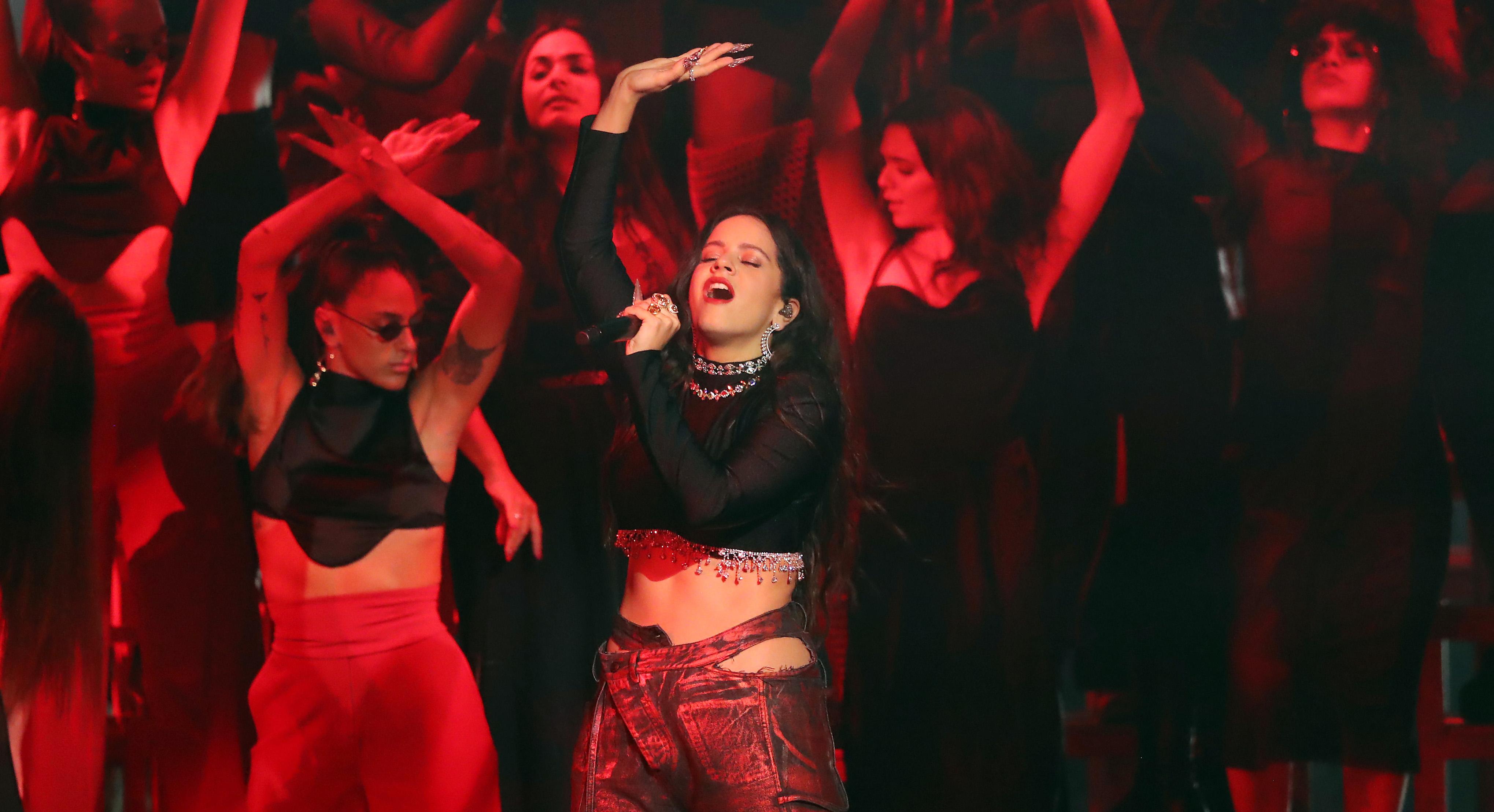 "Rosalía Returns to Form on Sparse Electronic Single ""A Palé"""