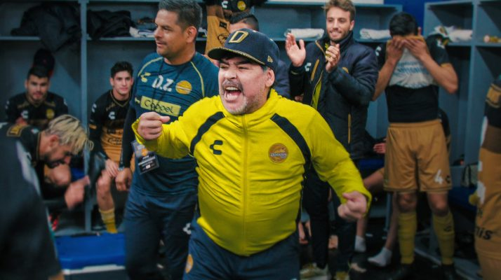 TRAILER: Diego Maradona Coaches a Losing Mexican Soccer Team to Victory in Netflix Docuseries