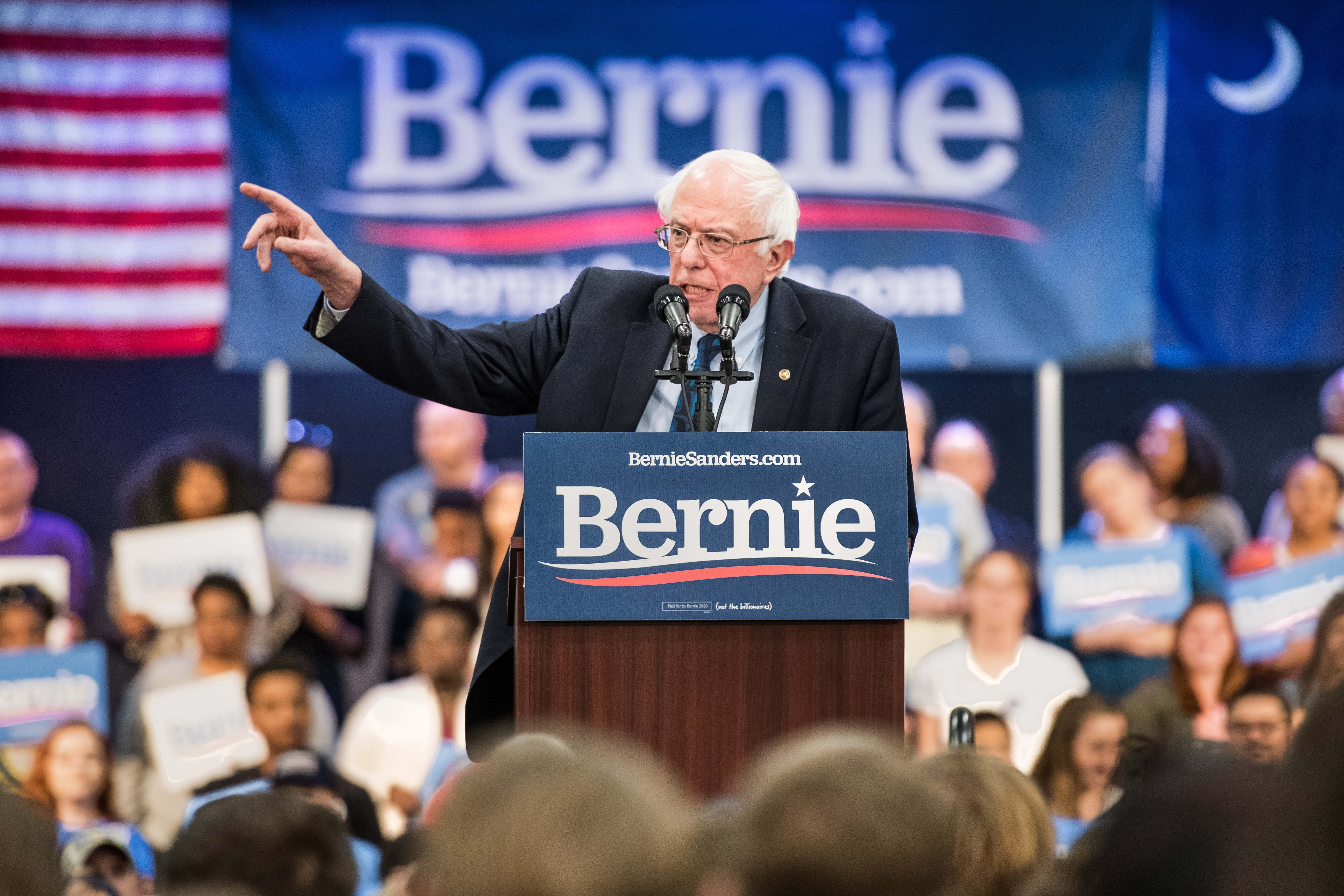 "Bernie Sanders' Ambitious Immigration Plan Aims To ""Break up"" ICE & Border Patrol"