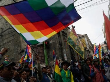 In Bolivia, the National Flag and the Indigenous Wiphala Become Symbols of Division