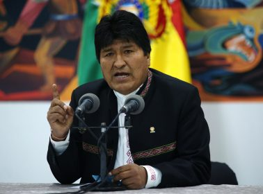 Bolivian President Evo Morales Steps Downs, Says He's the Victim of a Coup