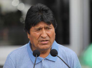 "Evo Morales to Bolivia's Self-Declared Interim President Jeanine Áñez: ""Coup-Mongering Right-Wing Senator"""
