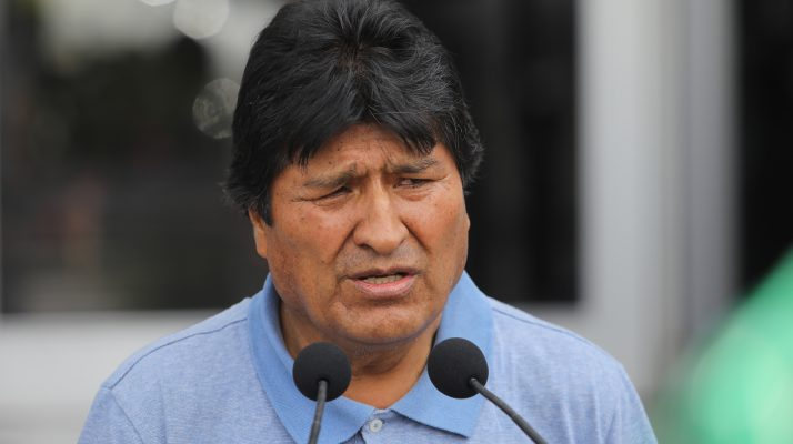 "Evo Morales to Bolivia's Self-Declared Interim President Jeanine Áñez: ""Coup-Mongering Right-Wing Senator"""