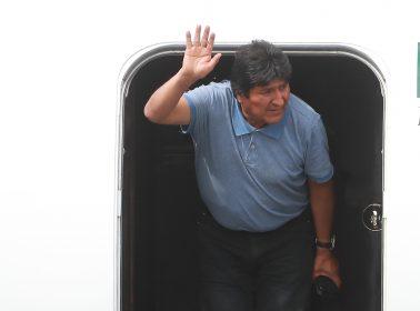 Former Bolivian President Evo Morales Accepts Political Asylum in Mexico