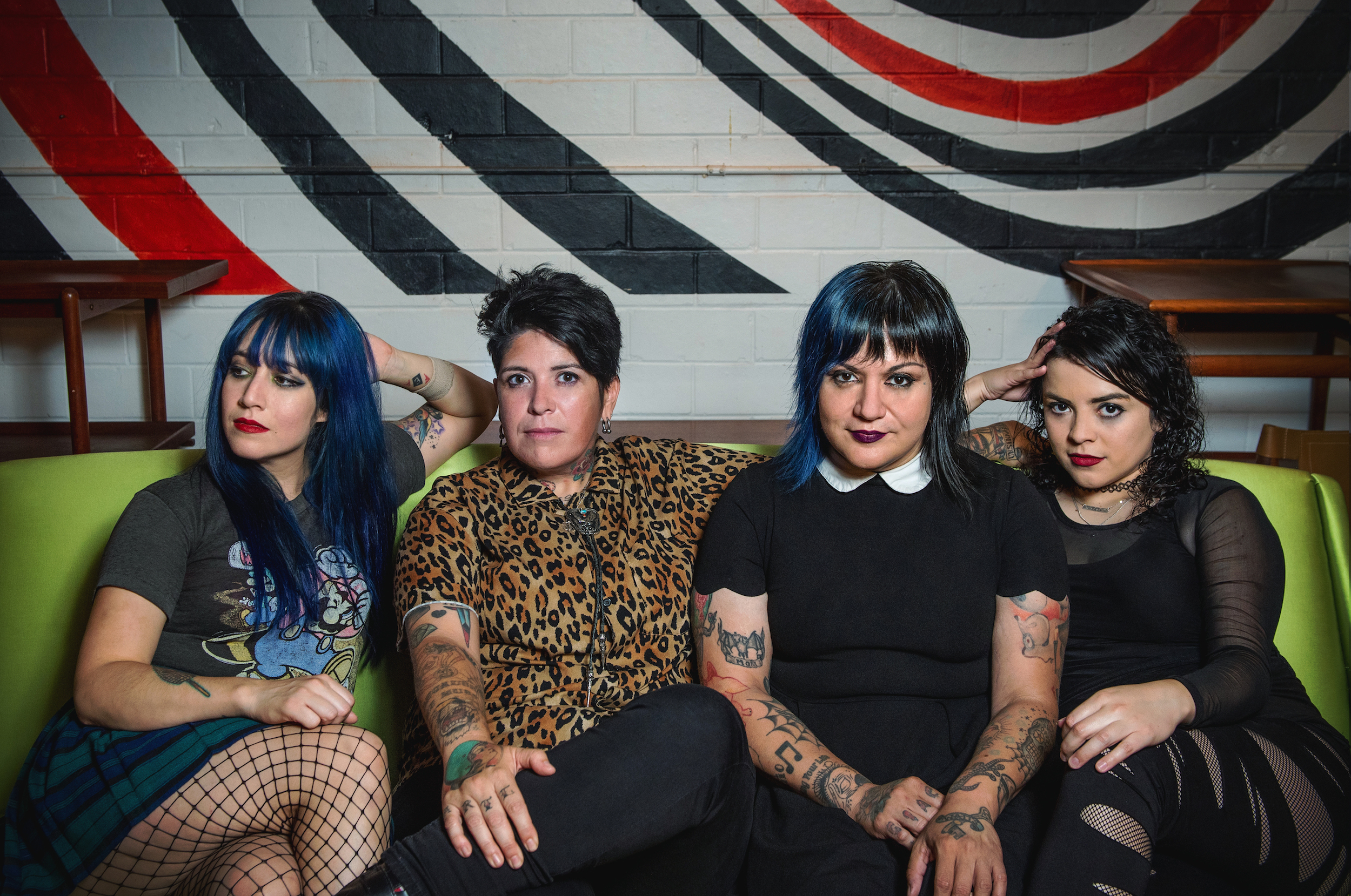 """Chicana Punks Fea Rally Against Wage Gaps in Video for New Single """"Ya Se"""""""