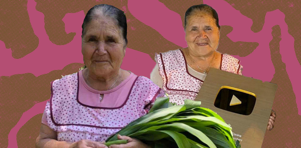 Michoacan Abuelita Doña Angela Honored for Reaching 100M Subscribers on Her Cooking-Focused YouTube