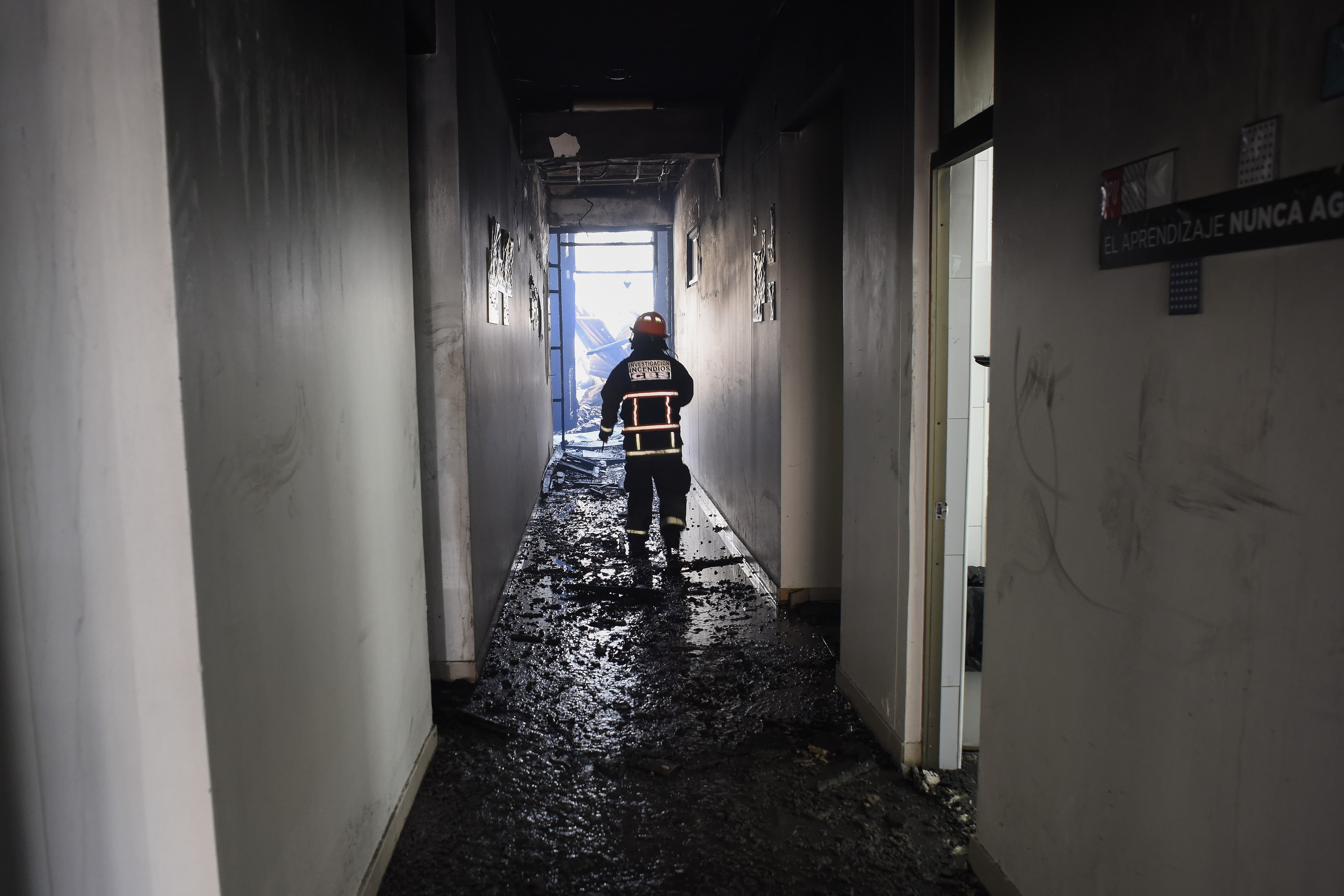 In Chile, Nochebuena Ends With a Forest Fire That Destroyed Hundreds of Homes