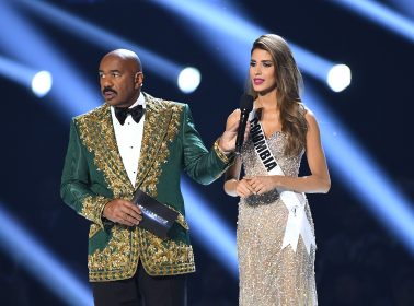 Twitter Is Dragging Steve Harvey for Making a Cartel Joke About Miss Colombia