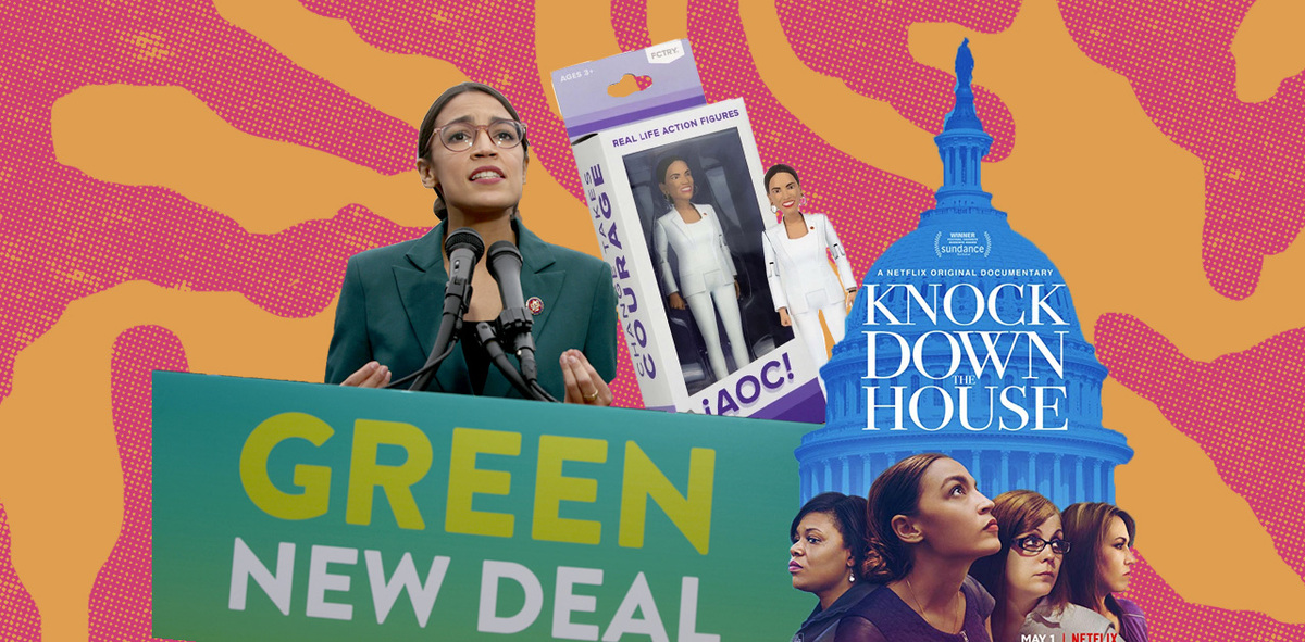 A Look Back at Alexandria Ocasio-Cortez's Momentous First Year in Congress