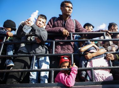 2,500 Hondurans From Caravan Say Going Back Home Is Not An Option