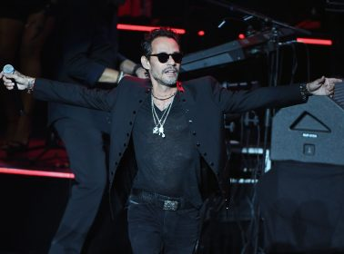 Marc Anthony Honors Basketball Legend Kobe Bryant at His Concert