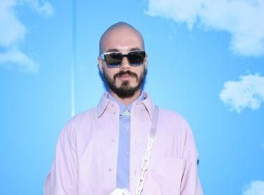J Balvin Brings Style Influencer Realness to Paris Fashion Week