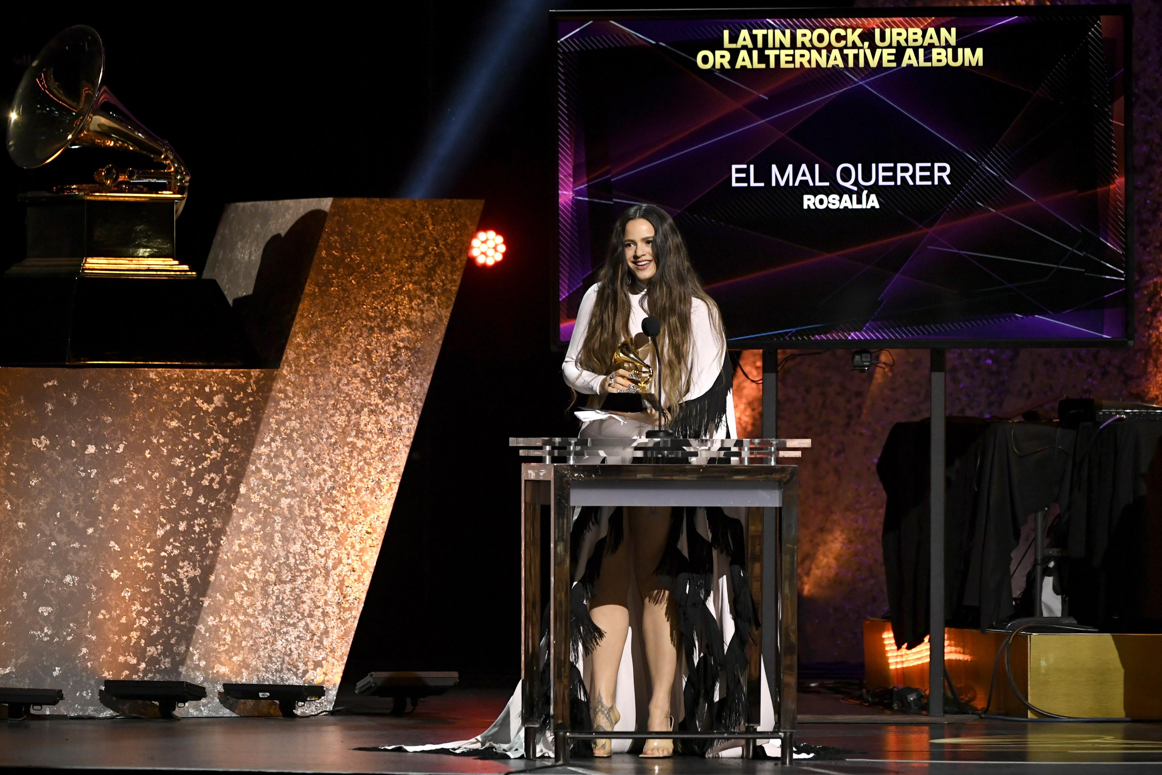 Your List of Latino, Latin American & Spanish Winners at 2020 Grammys