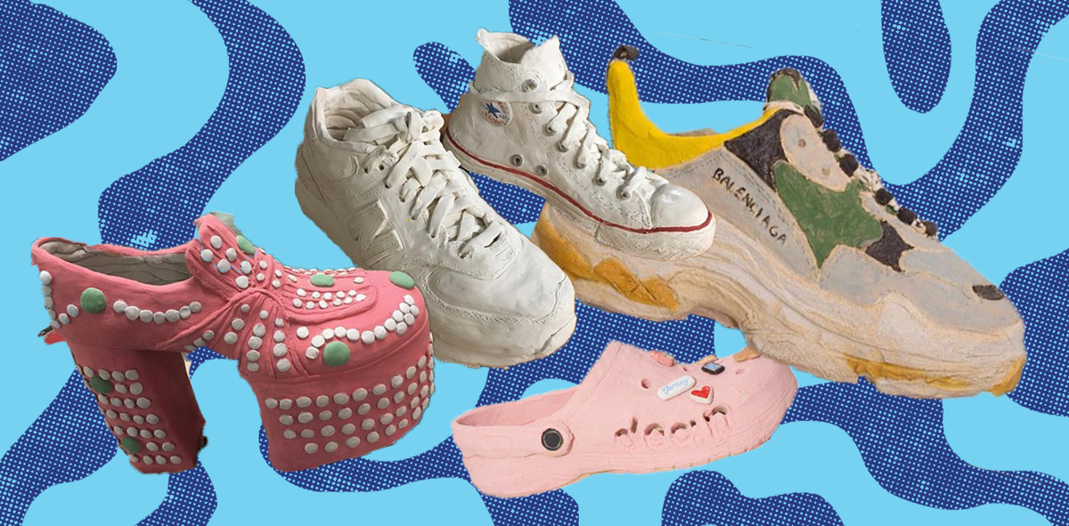 Meet Didi Rojas, the Colombian Artist Turning Footwear Into Ceramics