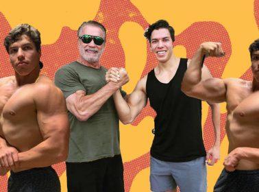 Meet Joseph Baena, Arnold Schwarzenegger's 22-Year-Old Guatemalan Son