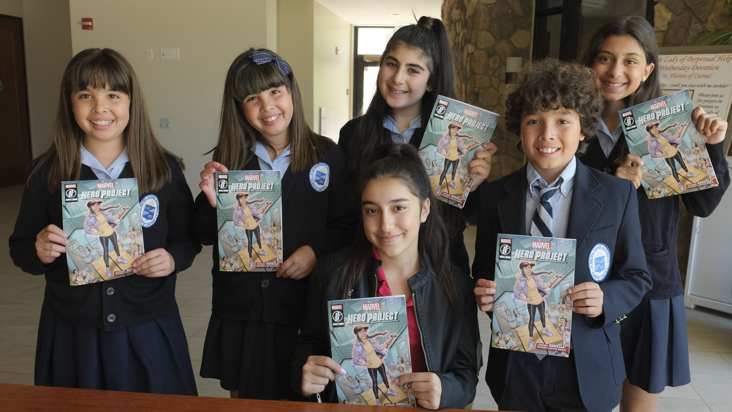 Meet 'Dynamic Daniella,' the Teen Girl Marvel Turned Into a Comic Book Hero Because of Her Charitable Work