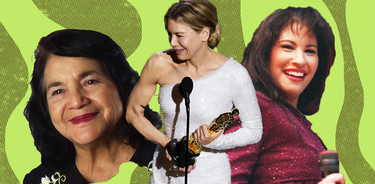 Selena, Dolores Huerta & More Get Shoutouts During Emotional Oscar Speeches