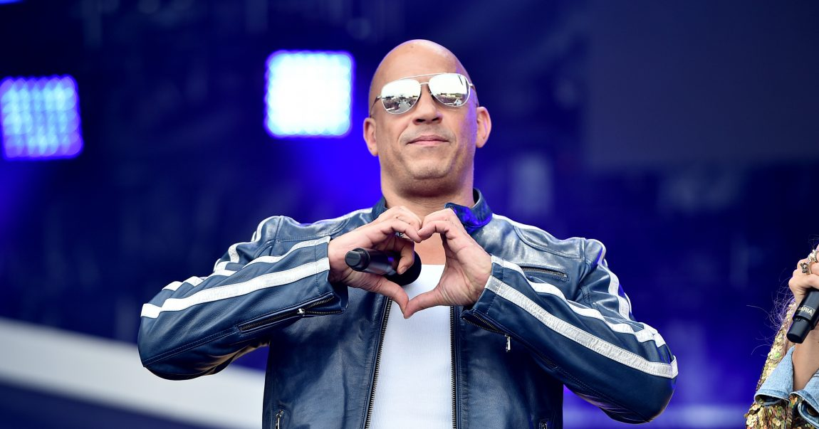 Vin Diesel on Jan. 31 2020